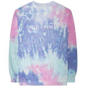 Ariana grande god is a woman crew sweatshirt